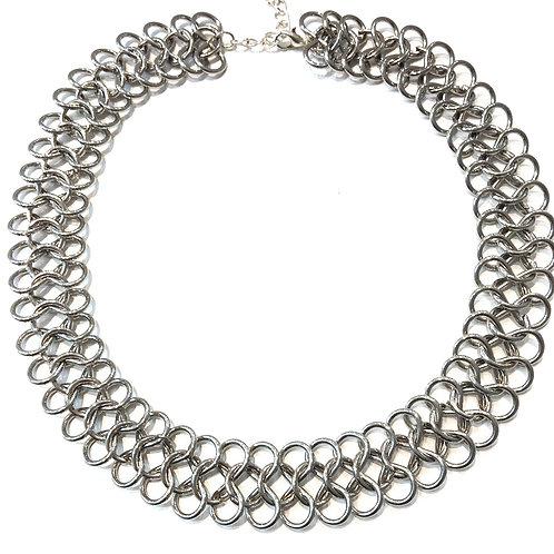 Fancy - Silver Choker