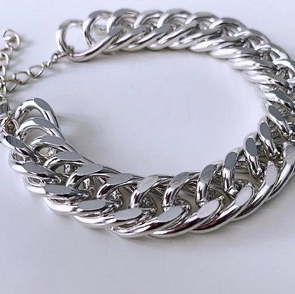 Chunky Bracelet - Silver