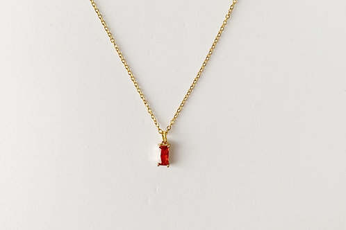 Single light pomegranate pendant - Gold
