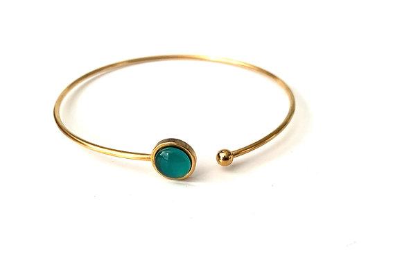 Envy - gold bangle