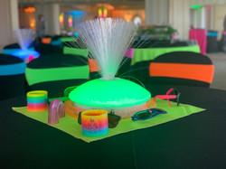 80s centerpiece_fiberoptic_glow event_80