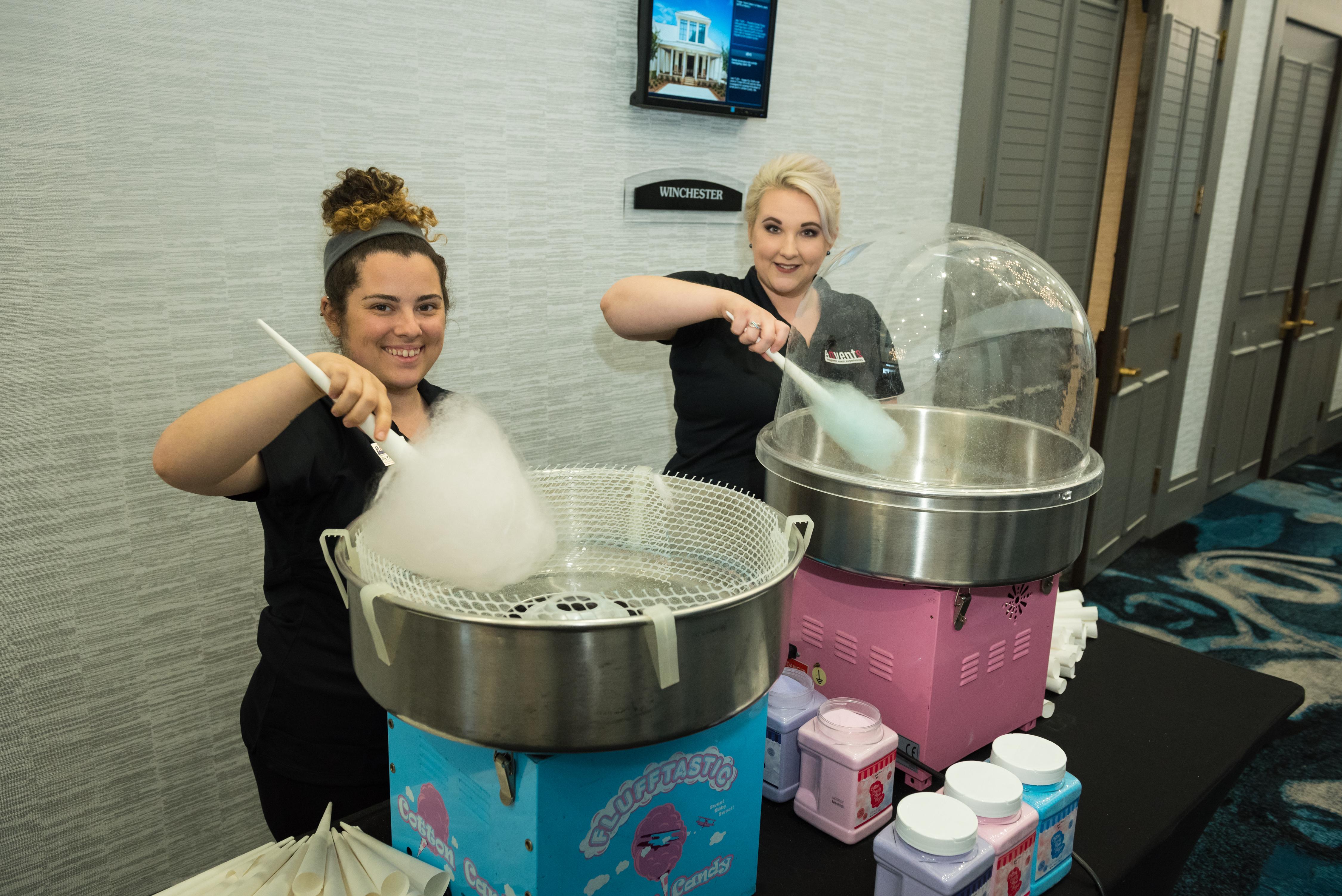 envents_cotton candy machine_team photos