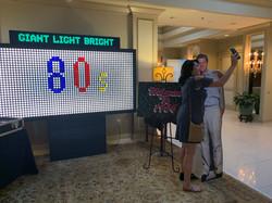 giant light bright_80s decor_80s event_t