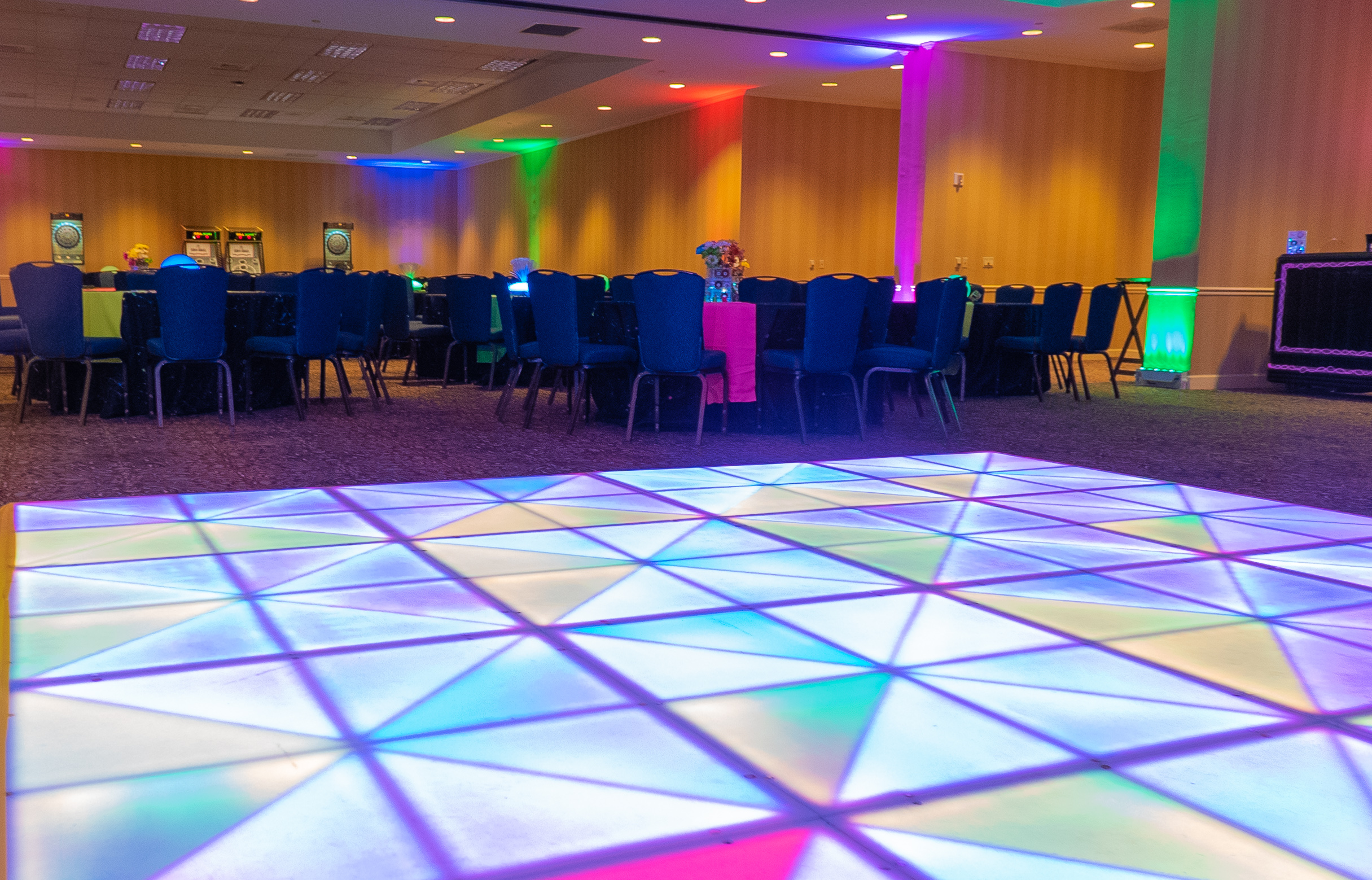 glow dance floor_glow theme_glow event_e