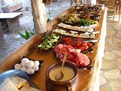 Dalyan Sedir Resort - Our Food, open buffet brekfast, bbq nights, clay oven