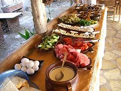 Dalyan Sedir Resort - Restaurant, açık büfe kahvaltı