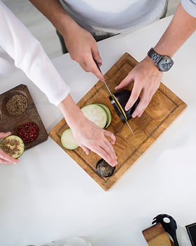 Preparing Eggplant