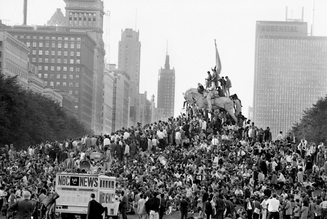 "THE 1968 DNC RIOTS, AND ""AMERICAN REVOLUTION 2"""