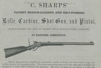 TRUE STORY OF HOW THE SHARPS RIFLE BECAME KNOWN AS 'BEECHER'S BIBLE'