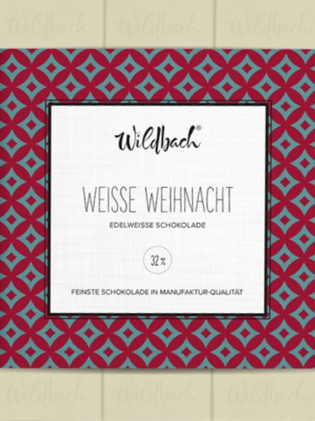 """Edelweisse Schokolade """"Weisse Weihnacht"""""""
