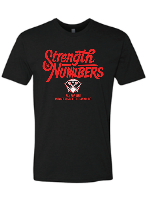 DCC Team Strength in Numbers Fan T-Shirt
