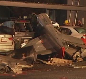 Accidente aéreo en Texas USA