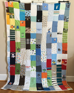 Toddler or Infant Shirt Quilt