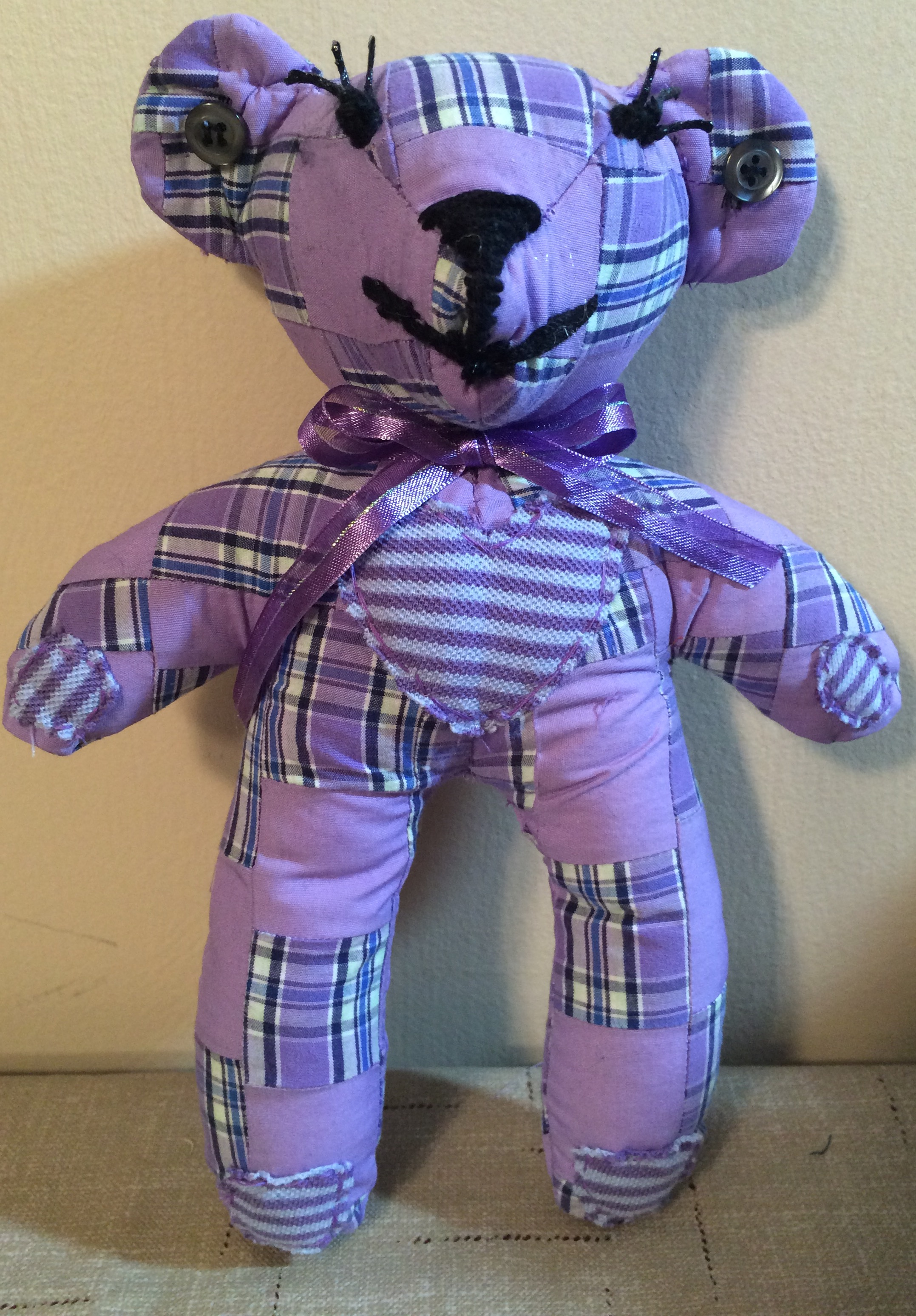 Patchwork Memory Bear