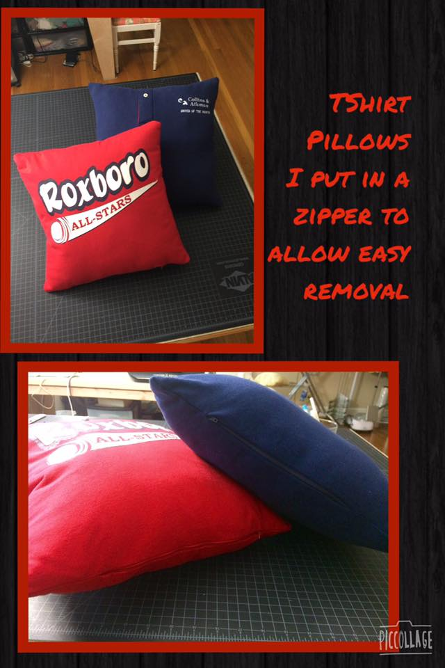 sweatshirt pillows