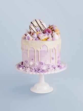 Drip Purple Cake