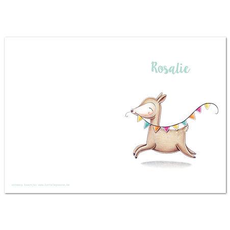Rosalie Thumb kaart dubbel verticaal 1.j