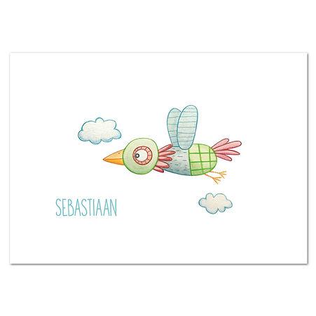 Sebastiaan Thumb kaart enkel horizontaal