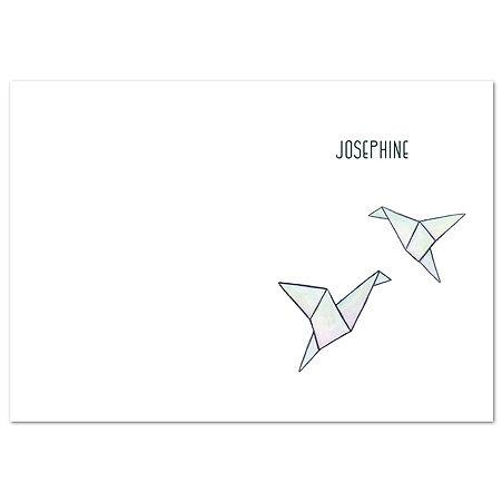 Josephine Thumb kaart dubbel verticaal 1