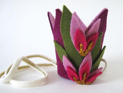 kroon paars, roze gouden bloemetjes 1.jp