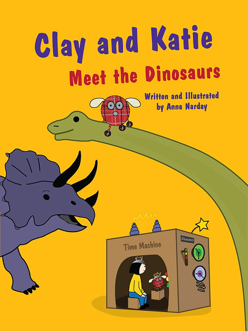 Clay and Katie Meet the Dinosaurs