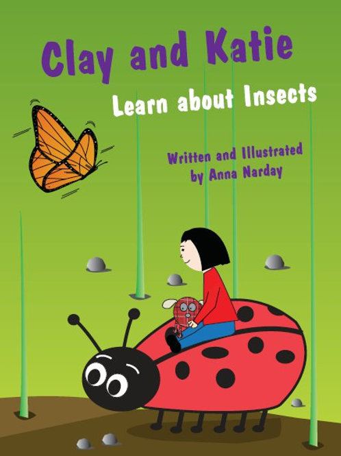 Clay and Katie Learn about Insects