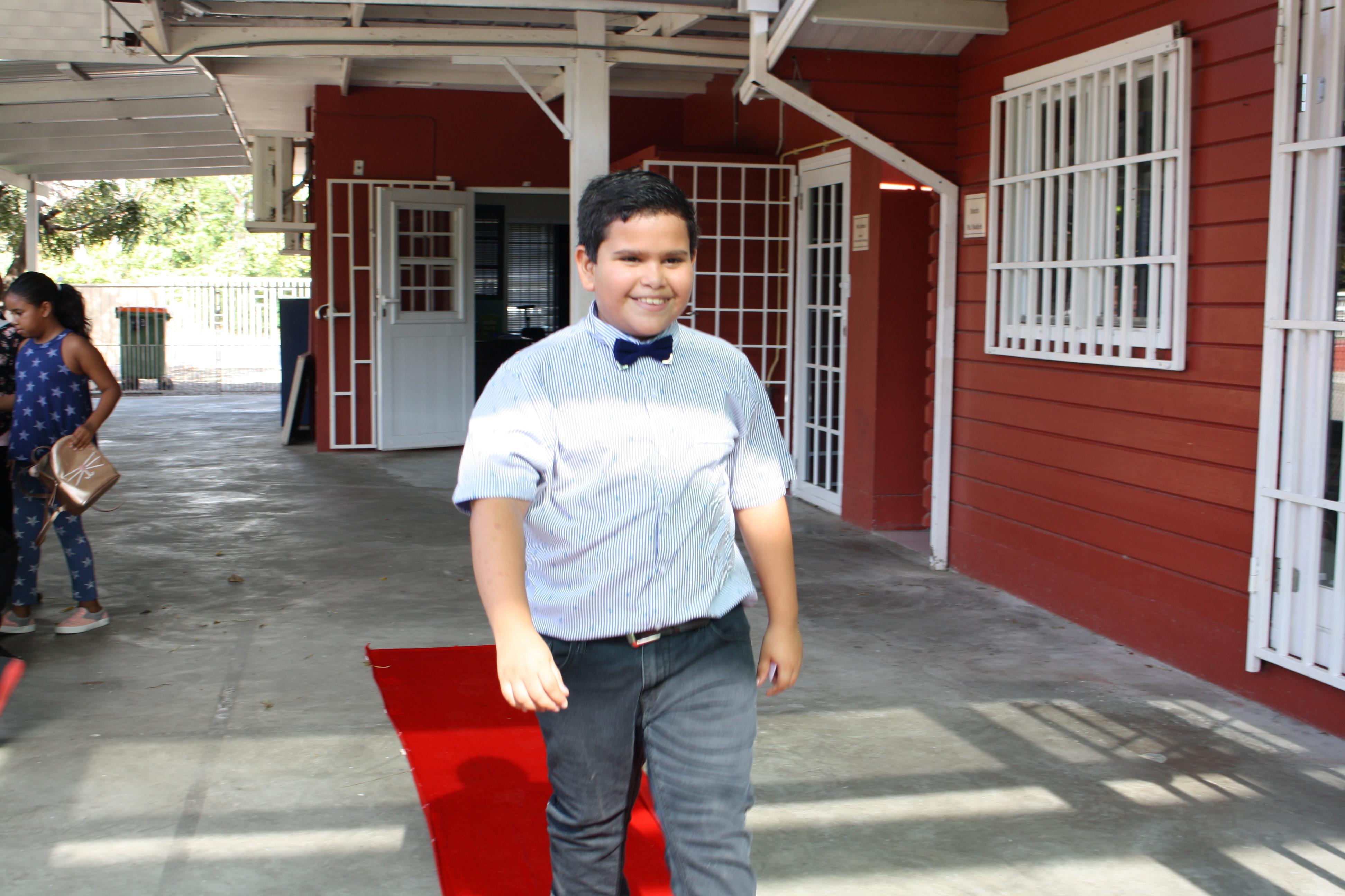 Red carpet walk!
