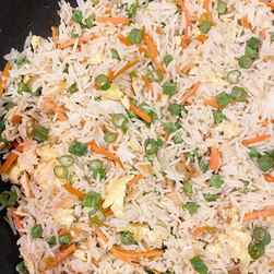 Quick Egg Fried Rice