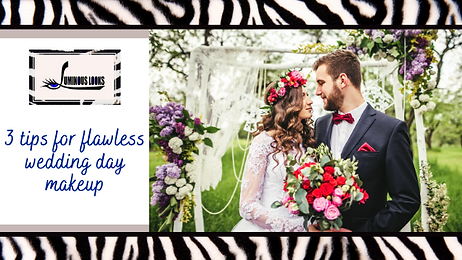 3 Tips for Flawless Wedding Day Makeup.p
