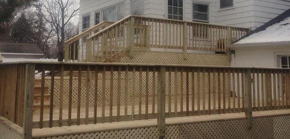 deck installation in bloomington mn