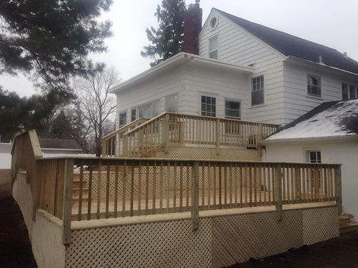 New Decks in Inver Grove Heights MN