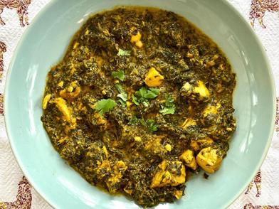 Palak Murghi (Spinach Chicken)