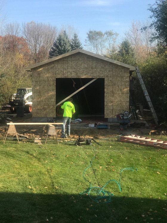 Garage Builders St Paul MN| Cuzzin Construction