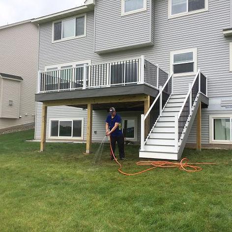 Deck Installation in Woodbury MN
