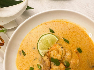 Red Curry Coconut Soup