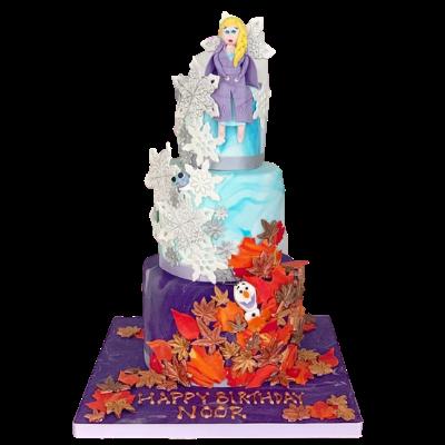 Frozen Cake - Nadine Ali