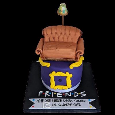 Friends Themed Cake - Nadine Ali