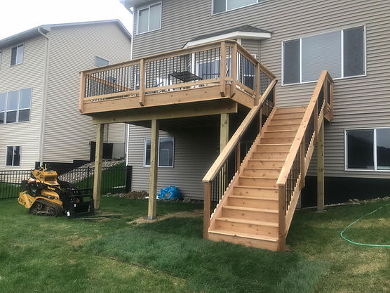 Deck Framing in Inver Grove Heights MN