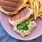 Mediterranean Chicken Salad Sandwiches