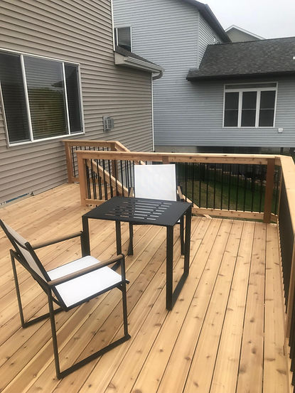 Deck Framing in Woodbury MN