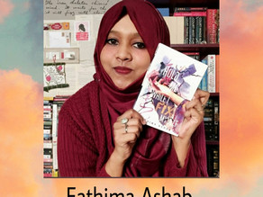 In conversation with Fathima Ashab- Author of 'Hold me While I fix myself'