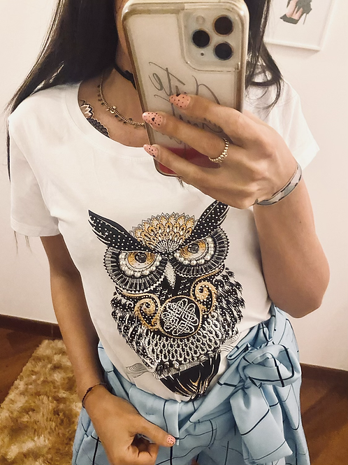 T shirt gufo