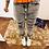 Thumbnail: Jeans grigio strappi