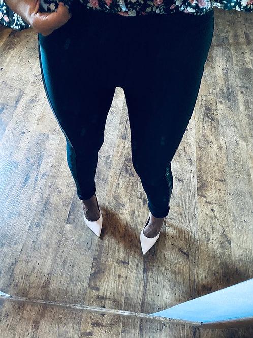 Leggings banda laterale