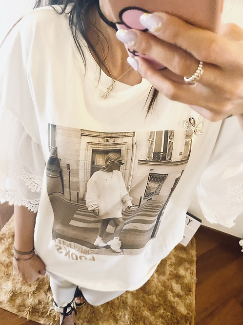 T shirt pizzo