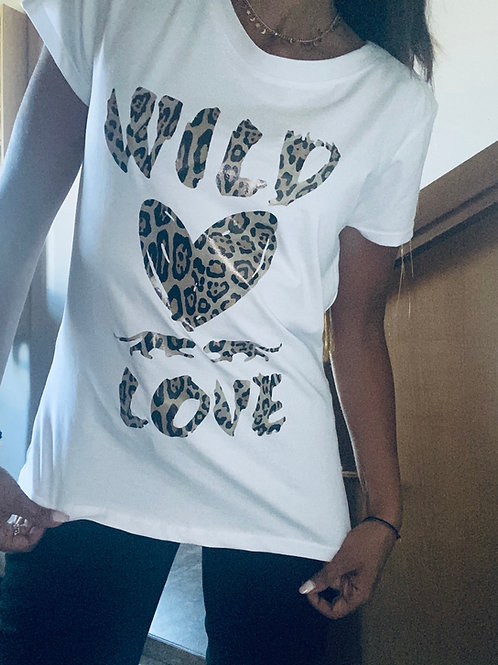T shirt wild