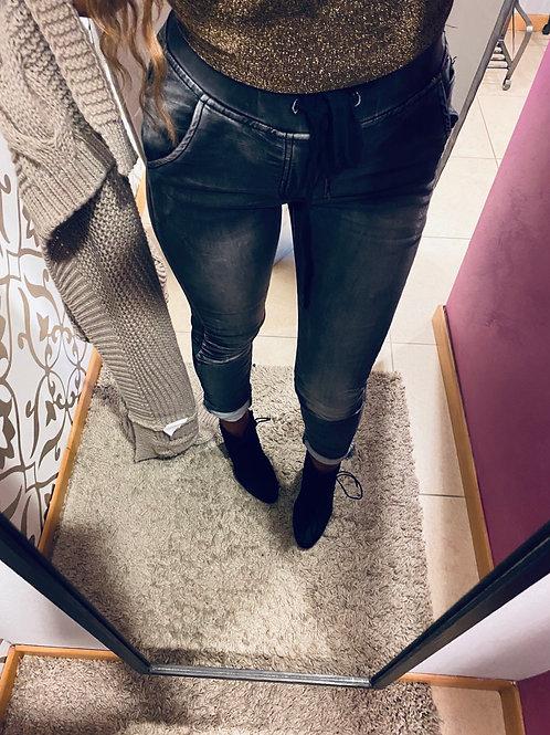 Jeans sportivo grigio