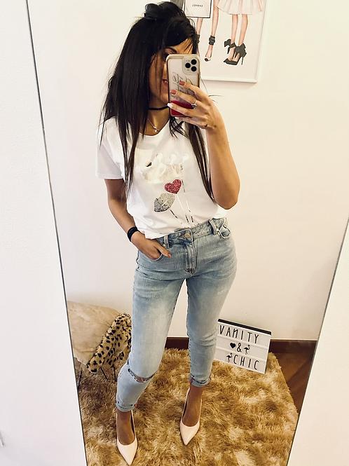 Jeans strappo sexy Woman