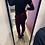 Thumbnail: Pantalone velluto Bordeaux