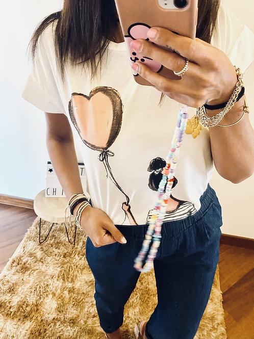 T shirt palloncino